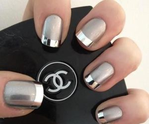 nails, chanel, and silver image