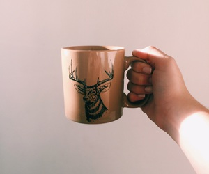 coffee and deer image