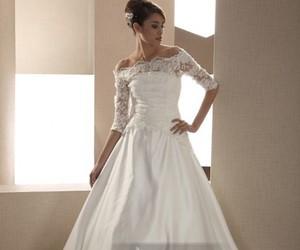 dresses, fashion, and wedding image