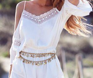 style, white, and boho image