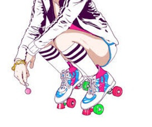 colorful and roller image