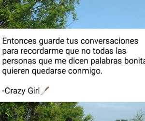 crazy, desamor, and frases image