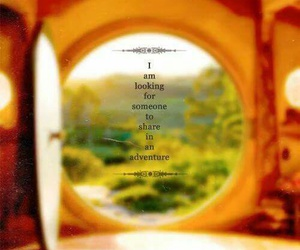 adventure, the hobbit, and quote image