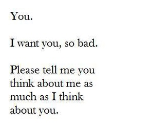 i want you, love, and him image