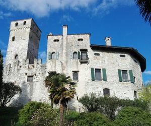 castle, italy, and udine image