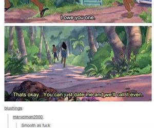 funny, lilo and stitch, and date image