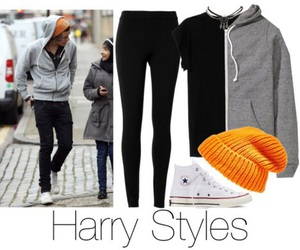 Polyvore, style, and harry image