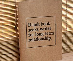 book, Relationship, and writer image