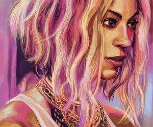 beyoncé, art, and queen bey image