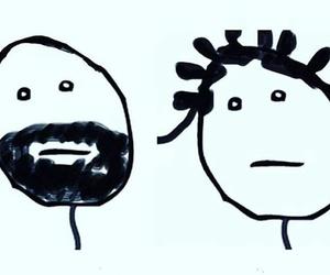Drake, drawing, and art image