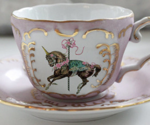 pink, unicorn, and mug image