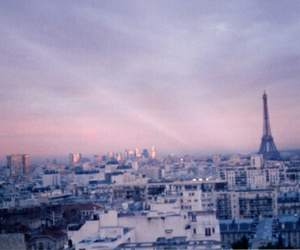 paris, city, and sky image