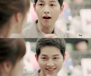 kdrama, song joong ki, and descendant of the sun image