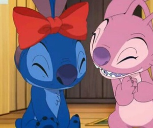 stitch angel love forever image