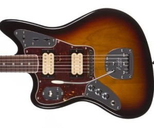 electric guitar, fender, and guitar image
