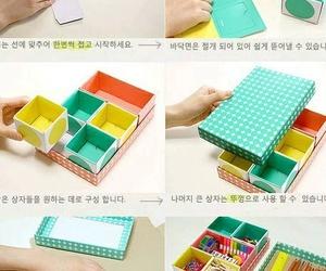 diy, box, and organizer image