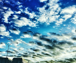morning clouds sky color image