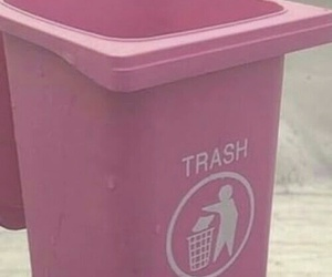 pink, trash, and pastel image