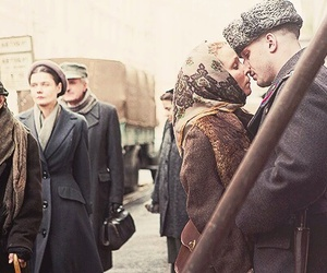 tom hardy, noomi rapace, and child 44 image