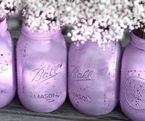 purple, flowers, and lilac image