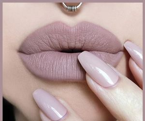 accessories, makeup, and Nude image
