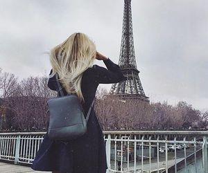 girl, hair, and paris image