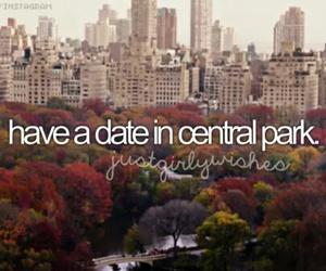 Central Park, date, and new york image
