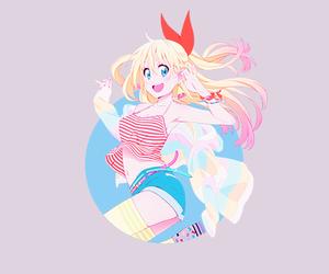 anime, nisekoi, and chitoge kirisaki image