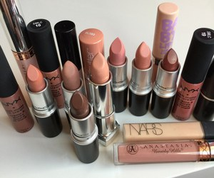 lipstick, mac, and nars image