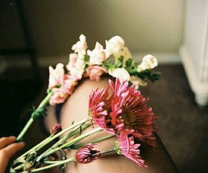 flowers, tumblr, and vintage image
