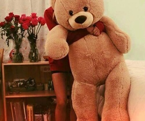bear, gift, and girlfriend image