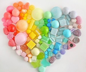 candy, colorful, and sweet image