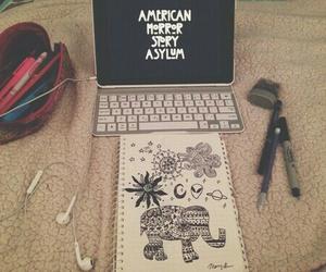 art, grunge, and indie image