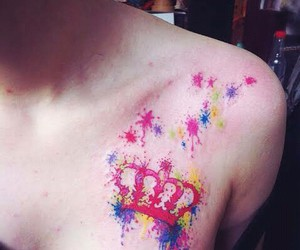 crown, Queen, and tatoo image
