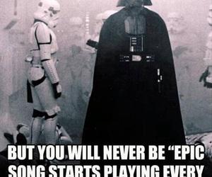 darth vader, star wars, and funny image