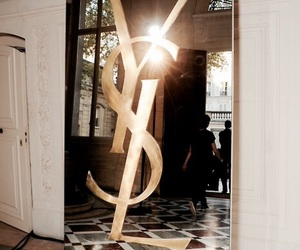 YSL, mirror, and style image