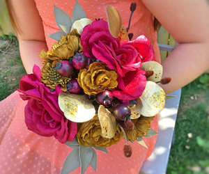bouquet, bride, and etsy image