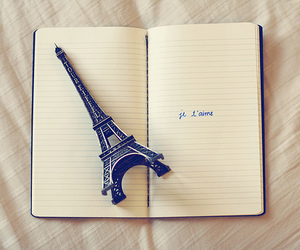 paris, je t'aime, and book image