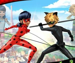 ladybug, Chat Noir, and miraculous image