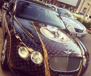 Bentley, Louis Vuitton, and voiture image