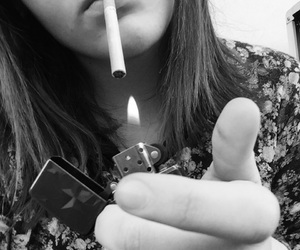 camel, cigarettes, and girl image