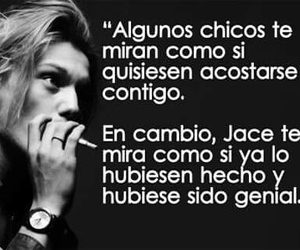 jace, cazadores de sombras, and book image