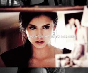 the vampire diaries, elena gilbert, and tvd image