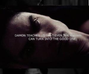 the vampire diaries, damon salvatore, and tvd image