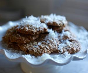coconut, Cookies, and dessert image