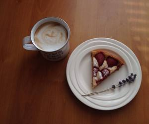 baking, cake, and coffee image
