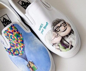up, shoes, and vans image