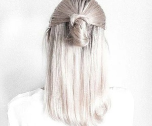 blond, white, and brade image