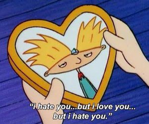 hate and hey arnold image