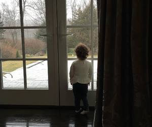 baby, kevin jonas, and window image